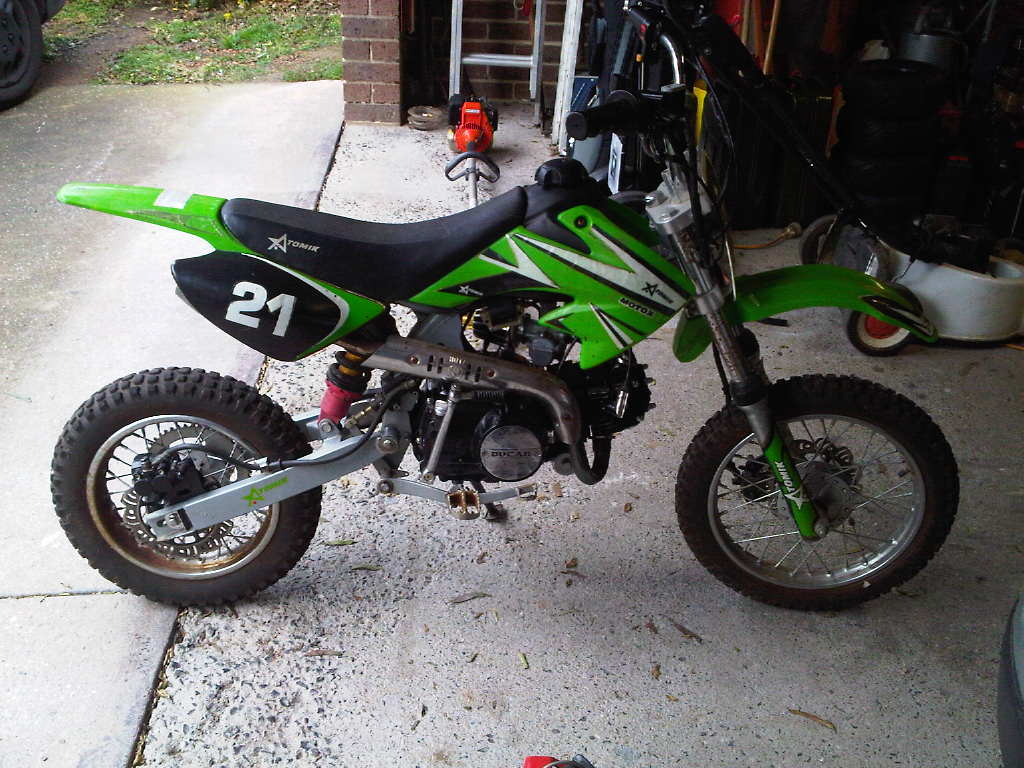 Chinese pit bike 125cc